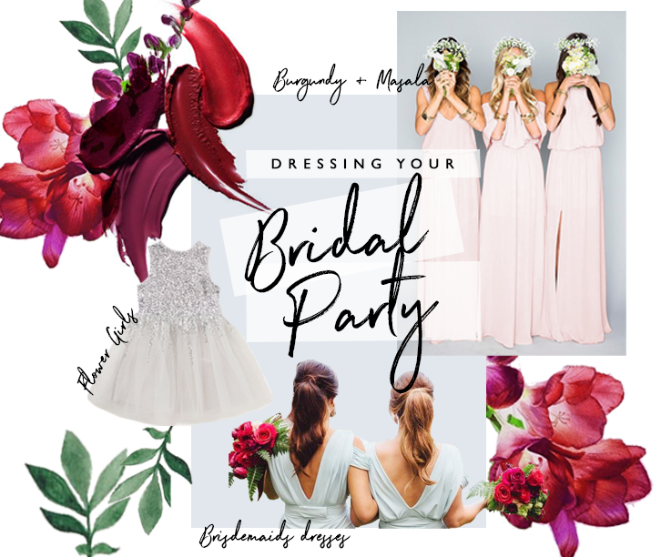 Dresses For Your Bridal Party : How To Nail It